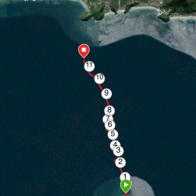 Percurso do Barco Vermelho